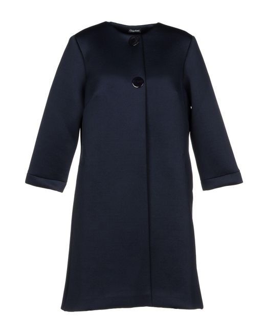 Charlott - Blue Overcoat - Lyst