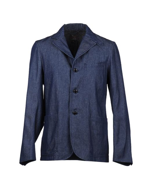 Woolrich | Blue Denim Outerwear for Men | Lyst