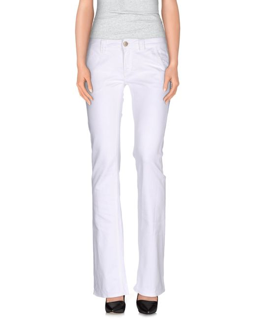 Dondup | White Casual Trouser | Lyst