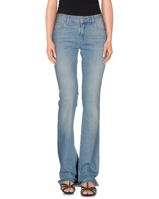 Notify | Blue Denim Pants | Lyst