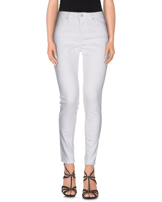 Joe's Jeans | White Denim Pants | Lyst