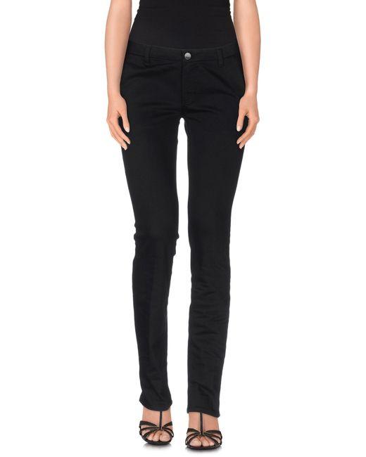 Victoria Beckham | Black Denim Trousers | Lyst
