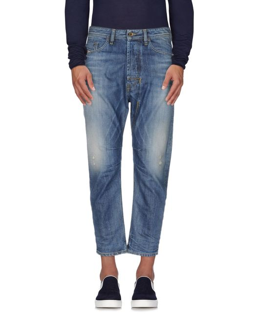 DIESEL | Kakee 853v Slim Carrot Fit Dark Blue Washed Jean for Men | Lyst