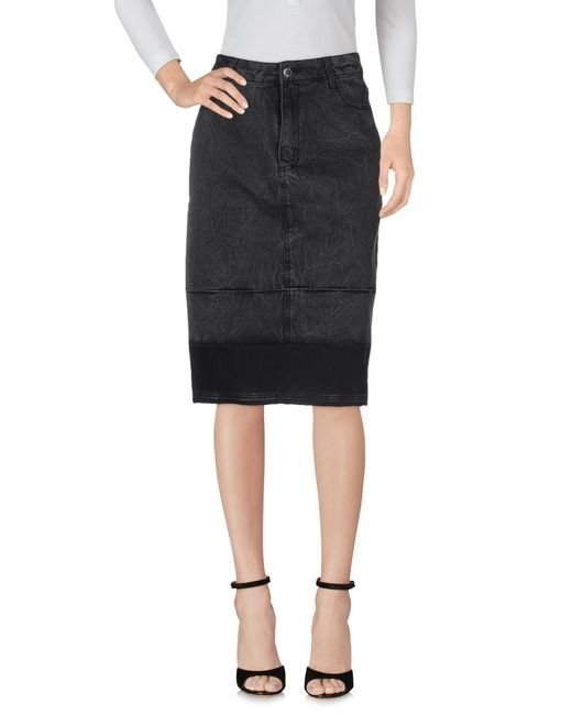 cheap monday denim skirt in black save 20 lyst