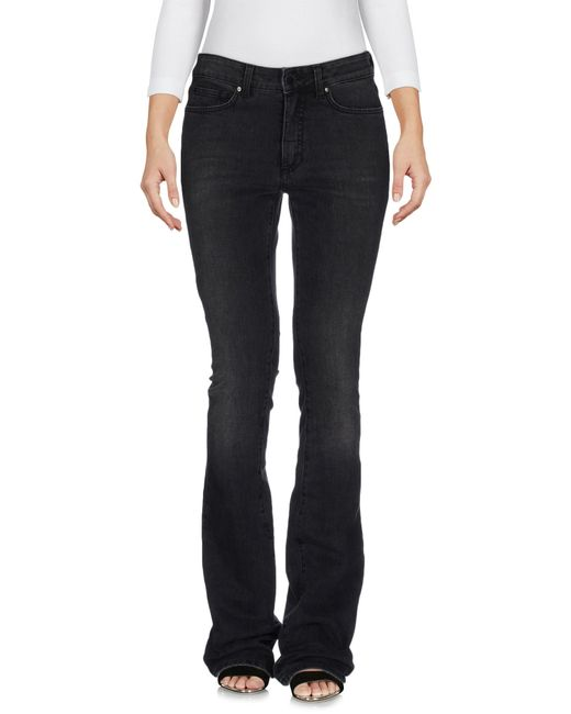 Space Style Concept | Black Denim Trousers | Lyst