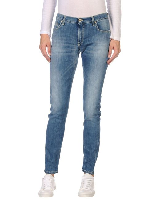 Dondup | Blue Denim Pants | Lyst