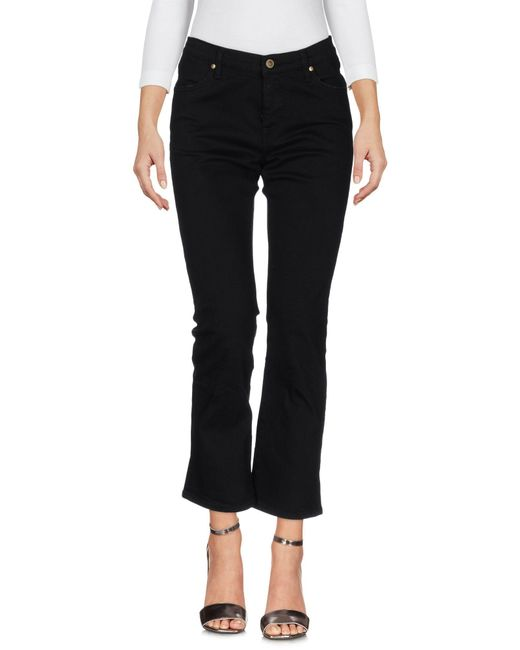 TRUE NYC | Black Denim Trousers | Lyst