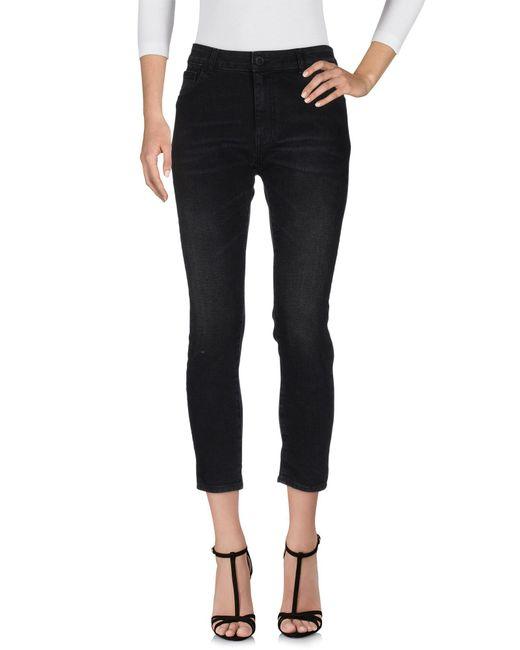 Space Style Concept | Black Denim Pants | Lyst