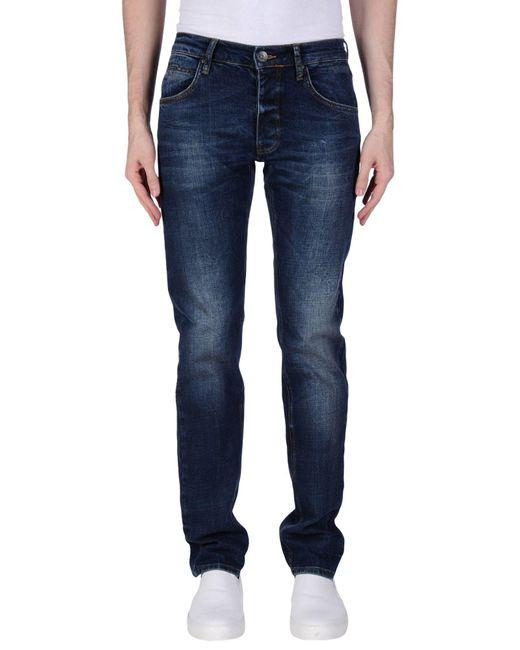 Liu Jo   Blue Denim Pants for Men   Lyst