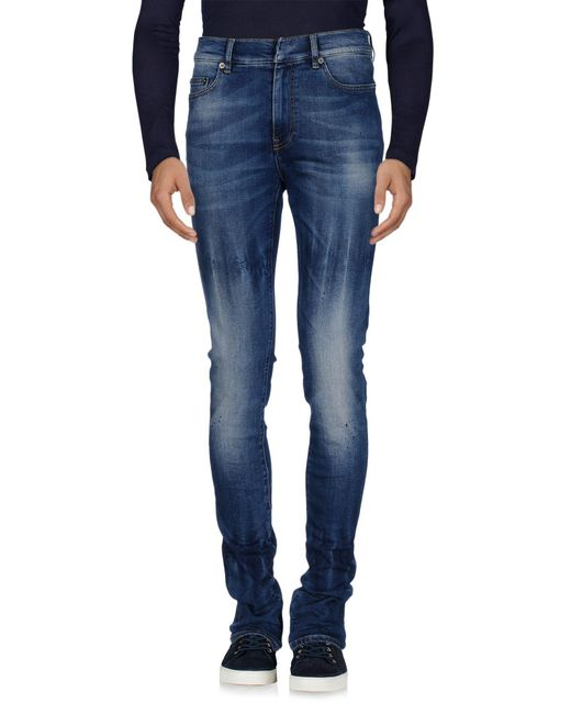 Ring | Blue Denim Pants for Men | Lyst