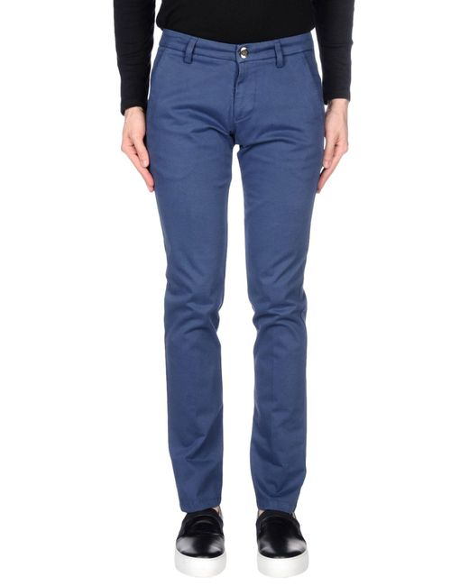 Fradi - Blue Casual Trouser for Men - Lyst