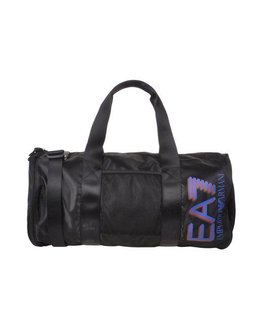 EA7 - Black Luggage for Men - Lyst