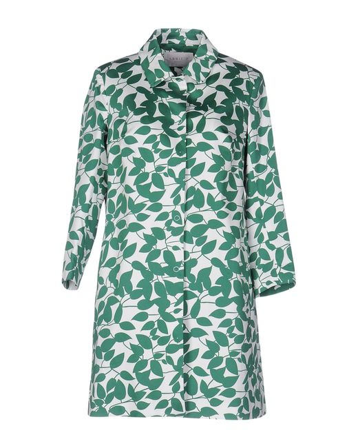 Annie P - Green Overcoats - Lyst