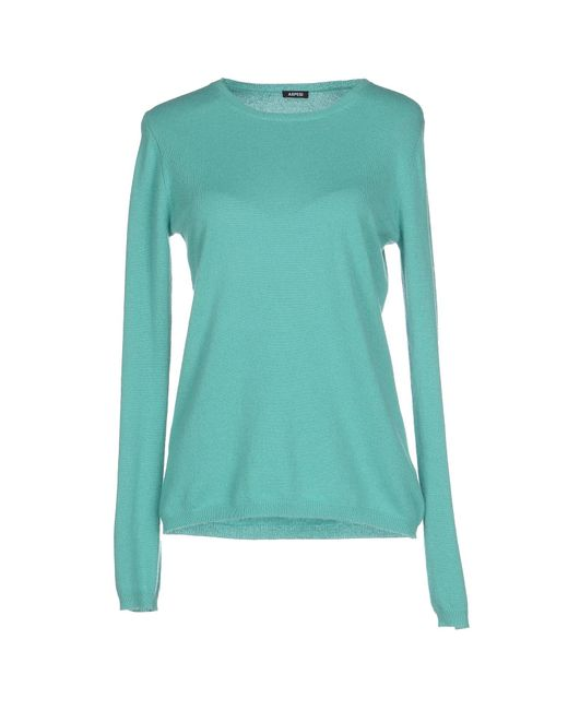Aspesi - Green Jumper - Lyst