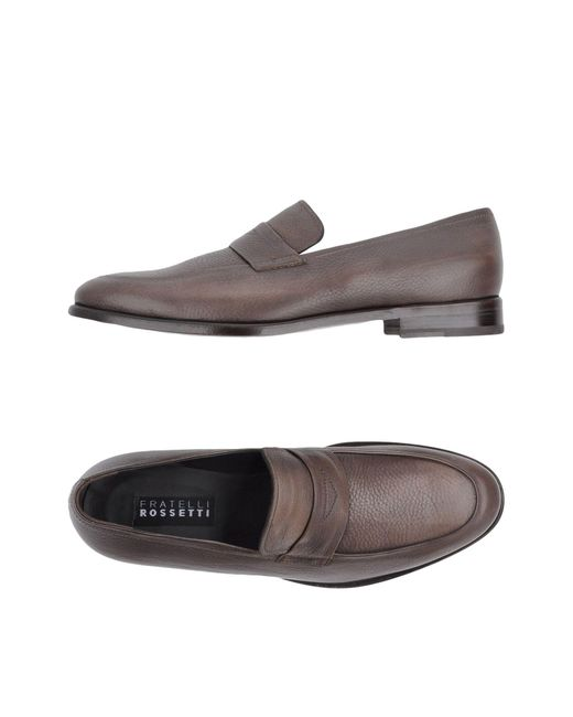Fratelli Rossetti - Brown Loafers for Men - Lyst
