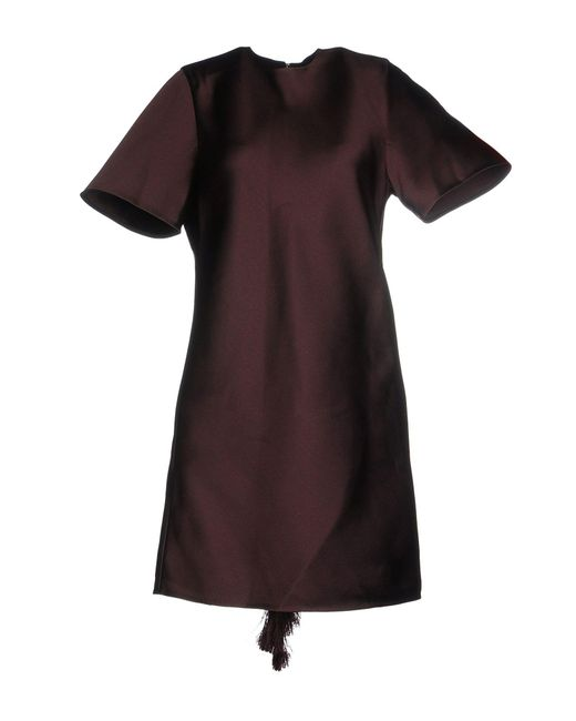 Alexander Wang - Purple Short Dresses - Lyst
