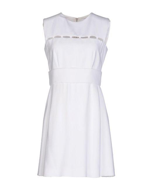 Emilio Pucci - White Short Dress - Lyst