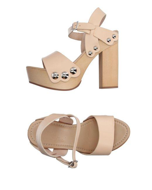 Maria Cristina - Natural Sandals - Lyst