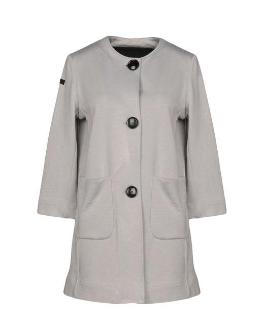 Rrd - Gray Coat - Lyst