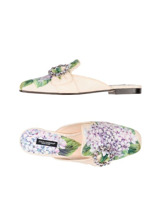 Dolce & Gabbana - Purple Sandals - Lyst