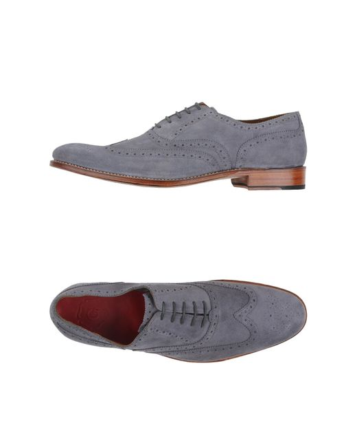 Grenson | Gray Lace-up Shoe for Men | Lyst