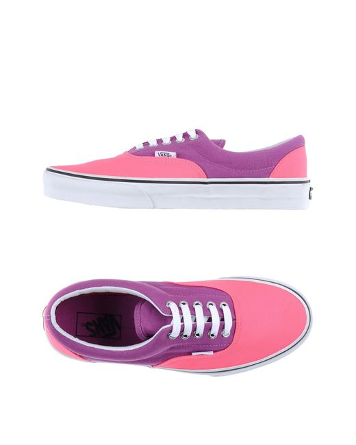 Vans | Purple Low-tops & Sneakers | Lyst