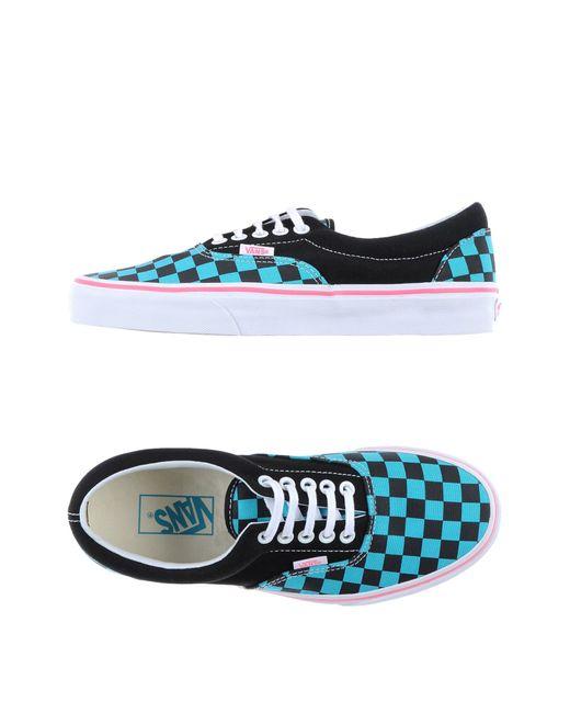 Vans | Blue Low-tops & Sneakers | Lyst