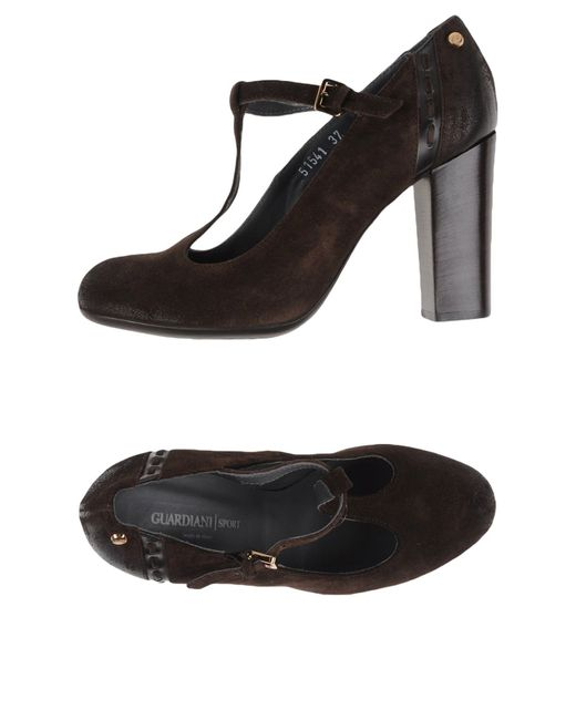 Alberto Guardiani | Brown Pump | Lyst