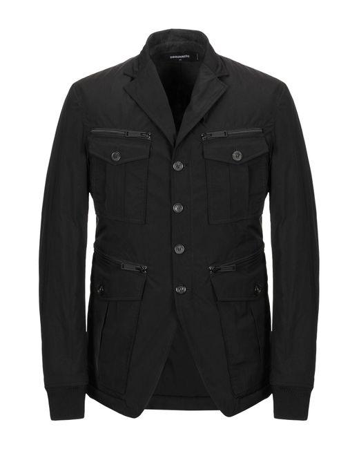 DSquared² Black Jacket for men