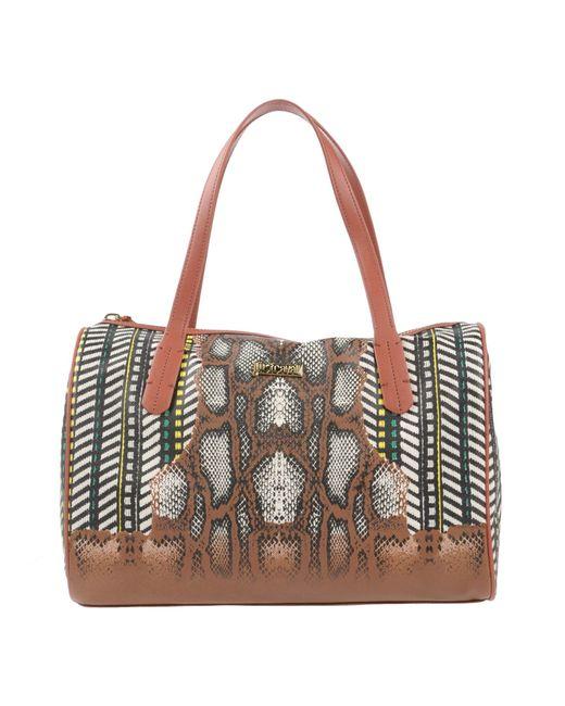 Just Cavalli | Brown Handbag | Lyst