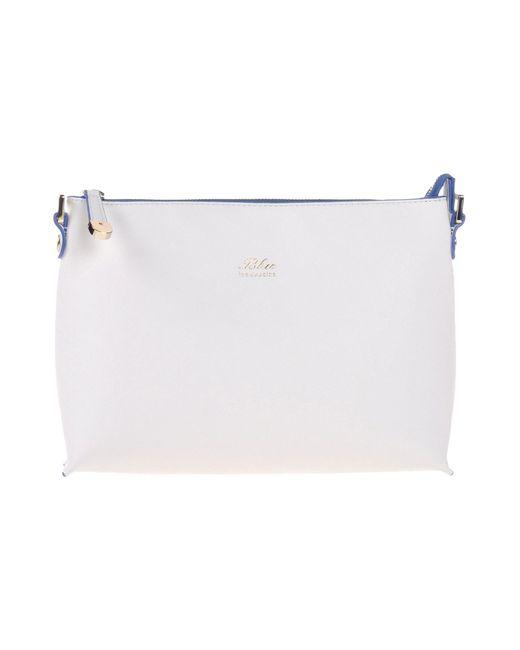Blue Les Copains | White Handbag | Lyst