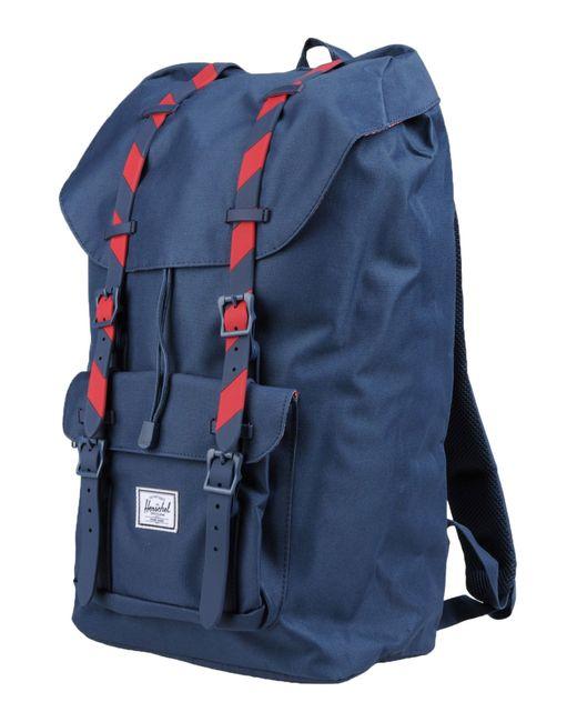 Herschel Supply Co.   Blue Herschel Retreat Crosshatch Backpack   Lyst