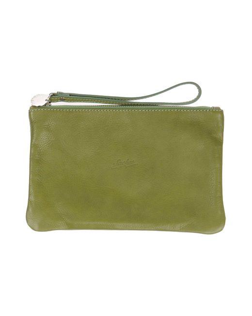 sachet handbag in green lyst. Black Bedroom Furniture Sets. Home Design Ideas