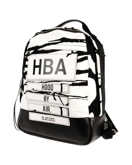 Hood By Air | White Backpacks & Bum Bags for Men | Lyst