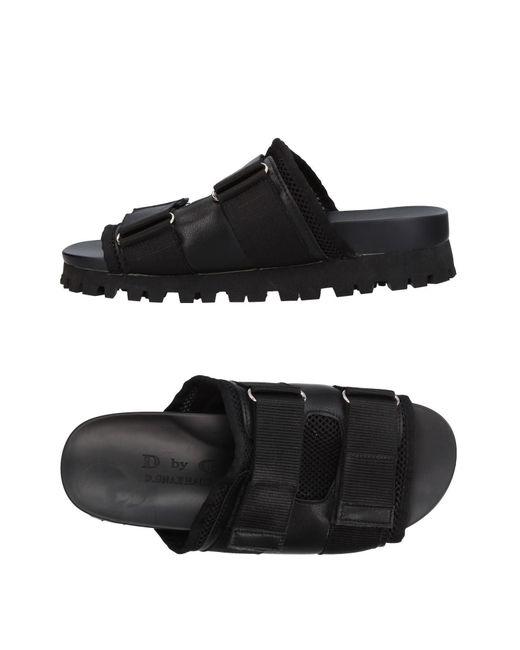 Dbyd - Black Sandale for Men - Lyst