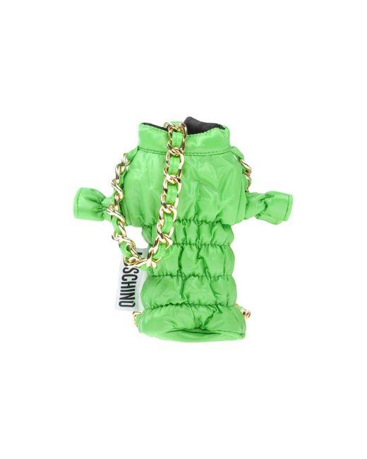 Moschino - Green Cross-body Bags - Lyst