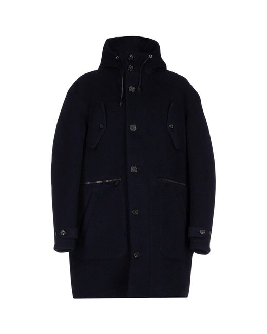 DSquared² - Blue Coat for Men - Lyst
