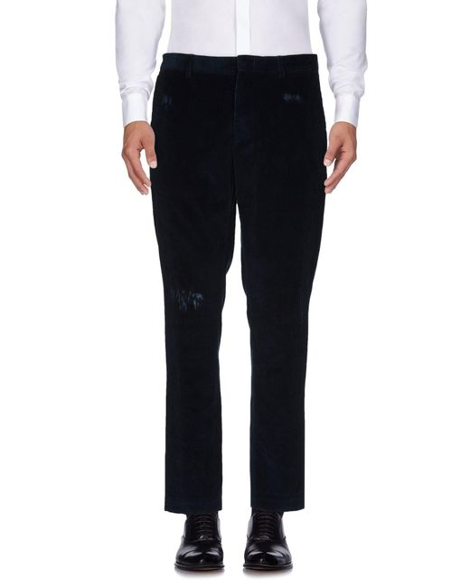 MSGM - Blue Casual Trouser for Men - Lyst