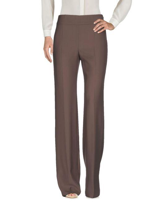 Armani   Gray Casual Trouser   Lyst