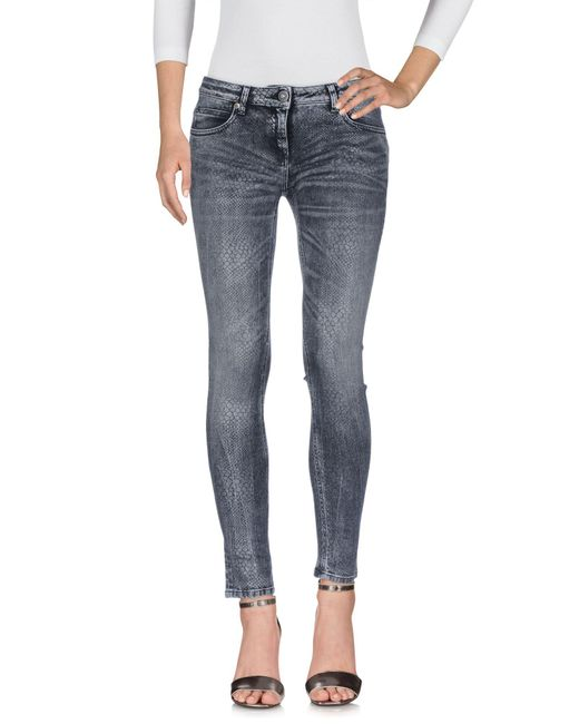 Ki6? Who Are You? - Gray Denim Trousers - Lyst