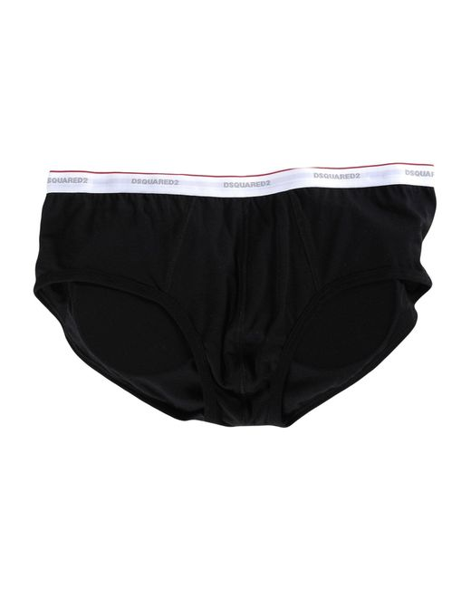 DSquared² | Black Brief for Men | Lyst