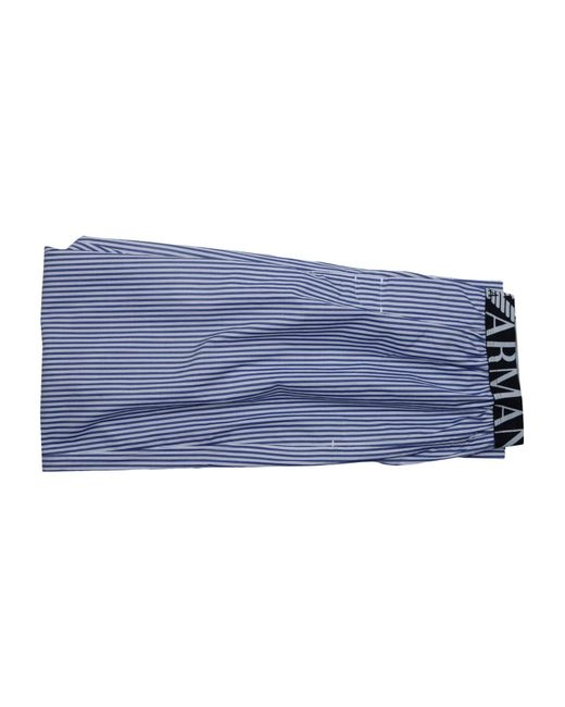 Emporio Armani | Blue Sleepwear for Men | Lyst