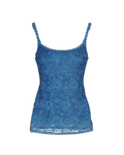 Cosabella | Blue Sleeveless Undershirt | Lyst