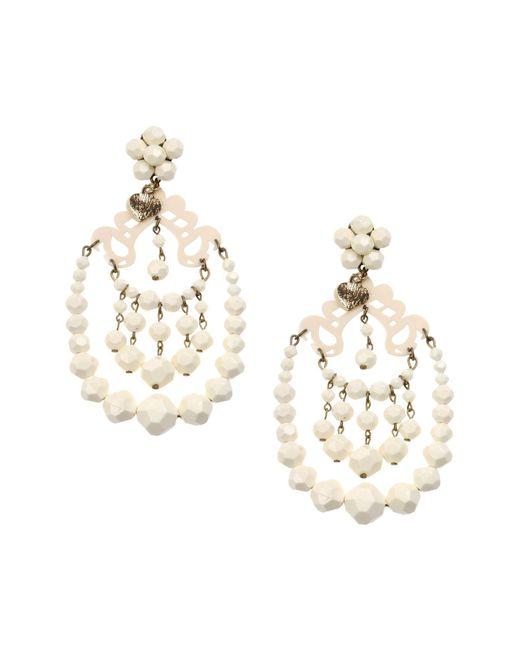 Mercantia - White Earrings - Lyst
