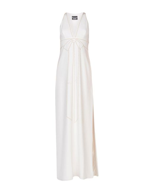 Boutique Moschino - White Long Dresses - Lyst