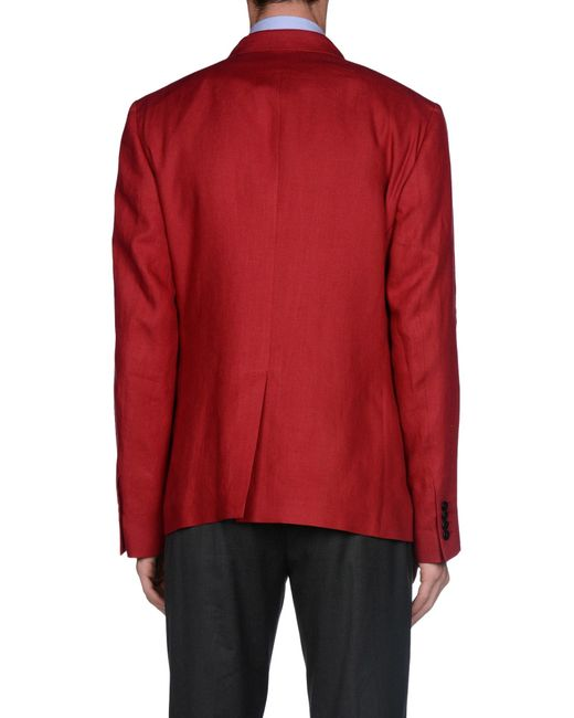Dolce & gabbana Blazer in Red for Men | Lyst
