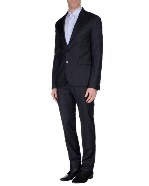 CoSTUME NATIONAL | Blue Suit for Men | Lyst