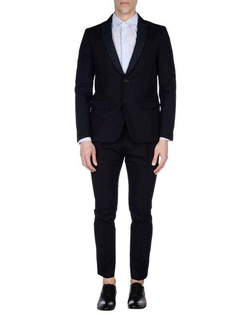 Mauro Grifoni   Blue Suit for Men   Lyst