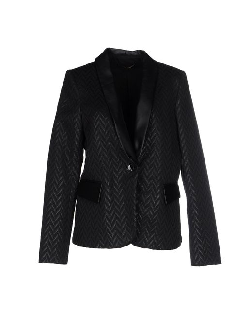SuperTrash | Black Juma Stretch Cotton-twill Jacket | Lyst