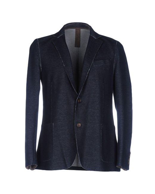 Eleventy | Blue Blazer for Men | Lyst